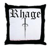 Black dagger brotherhood Throw Pillows