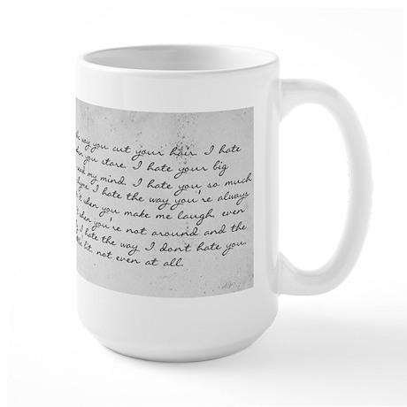 10 Things I Hate About You Large Mug