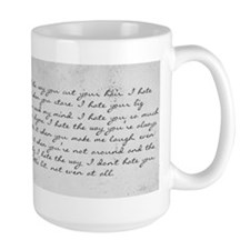 10 Things I Hate About You Mug