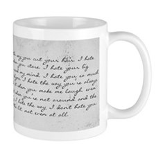 10 Things I Hate About You Small Mug