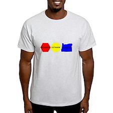 Hexagon, Octagon, Oregon T-Shirt