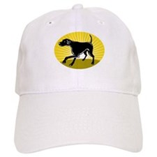 Pointer dog Baseball Cap