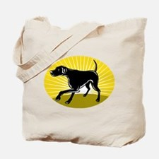 Pointer dog Tote Bag