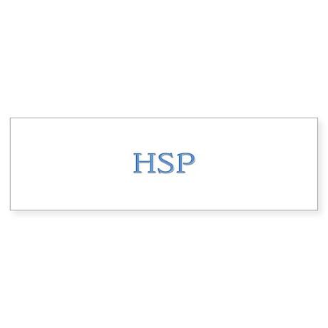 HSP Gift Bumper Sticker