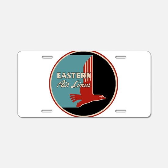 Eastern Airlines Aluminum License Plate