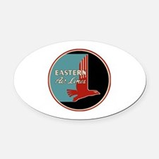 Eastern Airlines Oval Car Magnet