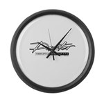 Duster Large Wall Clock