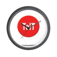 Get a RED roundToIT Wall Clock
