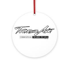 Trans Am Ornament (Round)
