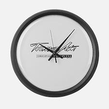 Trans Am Large Wall Clock