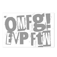 Ghost Hunting EVP Postcards (Package of 8)