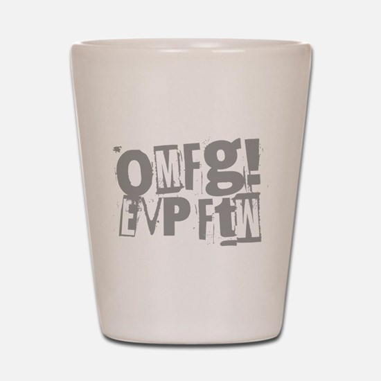 Ghost Hunting EVP Shot Glass