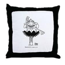 Black Swan Lil Throw Pillow