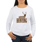 Big buck hunter Women's Long Sleeve T-Shirt