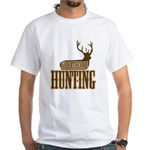 Big buck hunter White T-Shirt