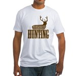 Big buck hunter Fitted T-Shirt