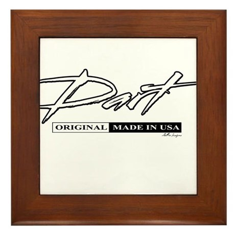 Dart Framed Tile