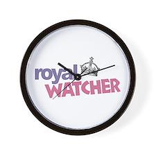 Royal Watcher Wall Clock