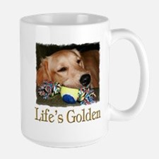 Life's Golden Large Mug
