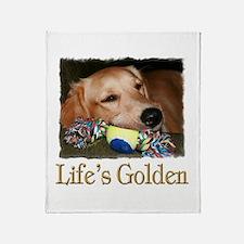 Life's Golden Throw Blanket