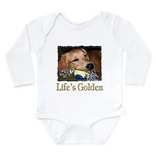 Life's Golden Long Sleeve Infant Bodysuit