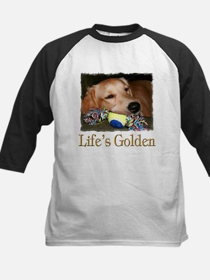 Life's Golden Kids Baseball Jersey