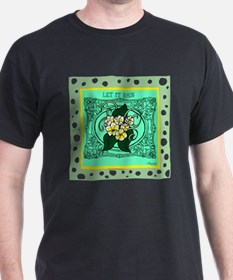 OYOOS Let It Rain: Flower design T-Shirt