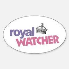 Royal Watcher Sticker (Oval)