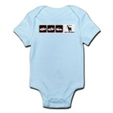 I'VA HORSE OUTSIDE Infant Bodysuit