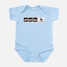 I'VA HORSE OUTSIDE Infant Bodysuit