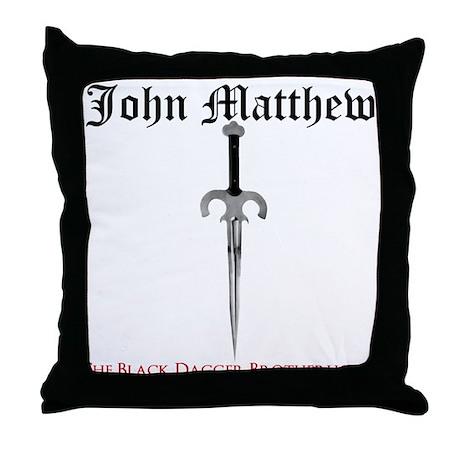 John Matthew Throw Pillow