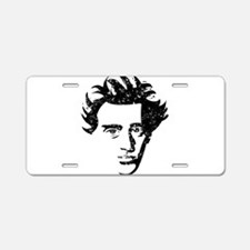 Søren Aabye Kierkegaard Aluminum License Plate