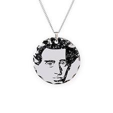 Søren Aabye Kierkegaard Necklace Circle Charm