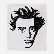 Søren Aabye Kierkegaard Throw Blanket