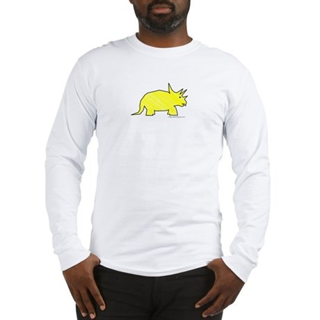 When Triceratops Ruled! Long Sleeve T-Shirt