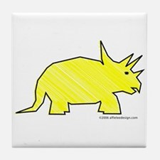 When Triceratops Ruled! Tile Coaster