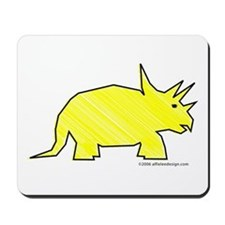 When Triceratops Ruled! Mousepad