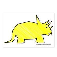 When Triceratops Ruled! Postcards (Package of 8)