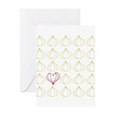 Garlic, please. Greeting Card
