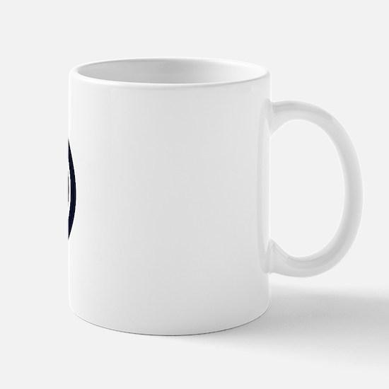 """College"" Euro - Dark Blue Mug"