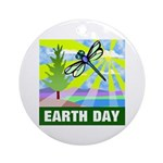Earthday Ornament (Round)