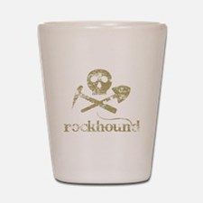 Rockhound Shot Glass