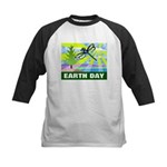 Earthday Kids Baseball Jersey