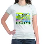 Earthday Jr. Ringer T-Shirt