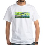 Earthday White T-Shirt