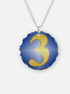 3 Year NA Birthday Necklace Charm