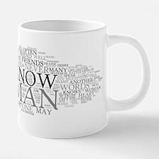 Havamal Word Cloud 20 oz Ceramic Mega Mug