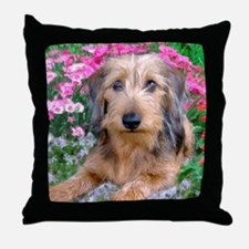 Doxie 1 Throw Pillow