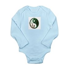 Cute 7 star Long Sleeve Infant Bodysuit