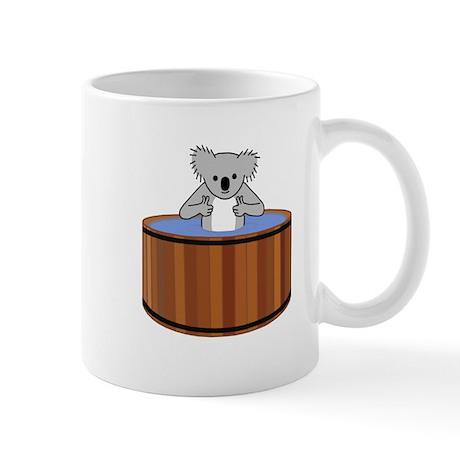 Koala in a Hot Tub Mug